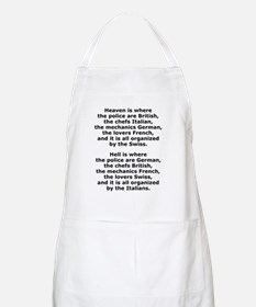 Heaven and Hell BBQ Apron