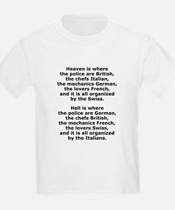 Heaven and Hell Kids T-Shirt