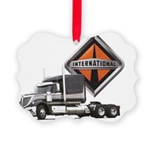 International Lone Star Semi Truc Ornament