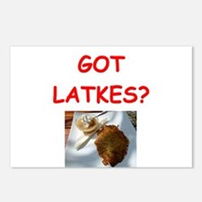 latkas gifts and t-shirts Postcards (Package of 8)