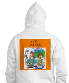 latkas gifts and t-shirts Hoodie