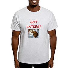 latkas gifts and t-shirts Ash Grey T-Shirt