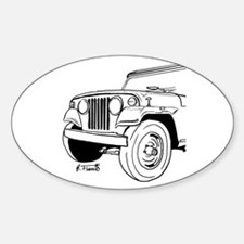 Jeepster Commando C101 Decal