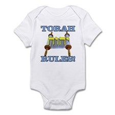 Torah Rules! Infant Bodysuit
