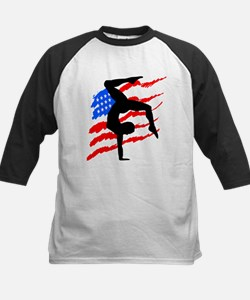 USA GYMNAST Kids Baseball Jersey