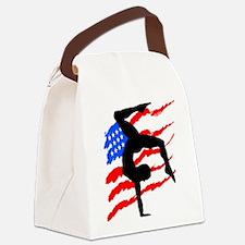USA GYMNAST Canvas Lunch Bag
