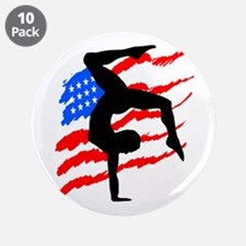 "USA GYMNAST 3.5"" Button (10 pack)"
