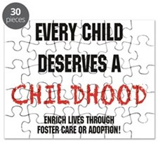 Updated.every child.black and red Puzzle