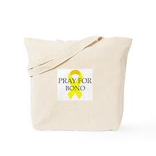 Pray for Bono Tote Bag