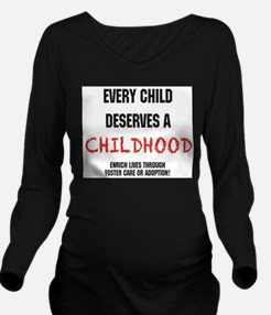 Funny Compassion Long Sleeve Maternity T-Shirt