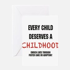 Unique Child abuse Greeting Card