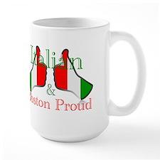 Italian and Boston Proud Mugs