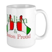 Italian and Boston Proud Mugs