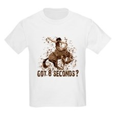 Got 8 seconds? Rodeo cowboy Kids T-Shirt