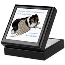 Angelic Collie Keepsake Box