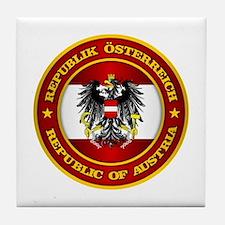 Austria Medallion Tile Coaster