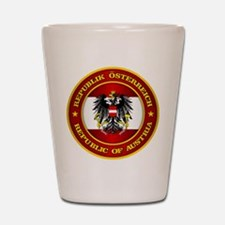 Austria Medallion Shot Glass