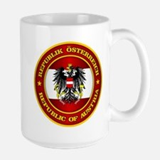 Austria Medallion Mugs
