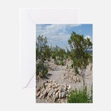 Boot Hill Cemetary Greeting Cards (Pk of 10)
