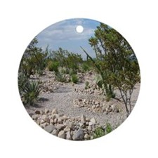 Boot Hill Cemetary Ornament (Round)