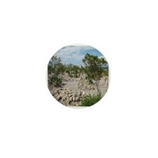 Boot Hill Cemetary Mini Button