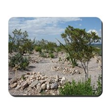 Boot Hill Cemetary Mousepad