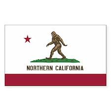 Northern California Bigfoot Stickers