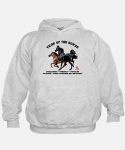 Year of The Horse Characteristics Hoodie