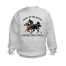 Year of The Horse Characteristics Sweatshirt