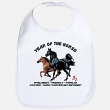 Year of The Horse Characteristics Bib
