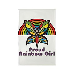 Rainbow Pride Rectangle Magnet (10 pack)