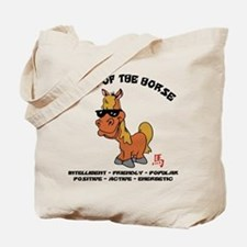 Funny Year of The Horse Characteristics Tote Bag