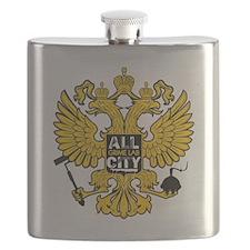 Bird Emblem Flask