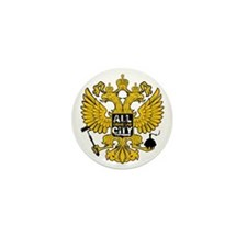 Bird Emblem Mini Button