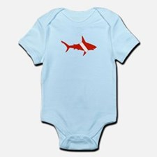 Shark Diver Infant Bodysuit