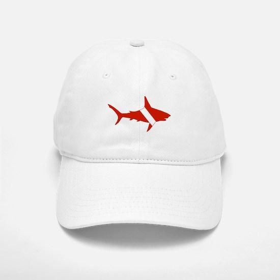 Shark Diver Baseball Baseball Cap