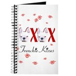 Frenchie kisses OXOX Journal