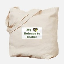 Booker: My Heart Tote Bag