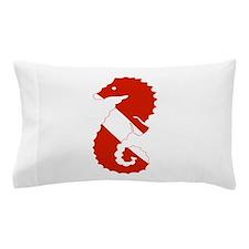 Seahorse Diver Pillow Case