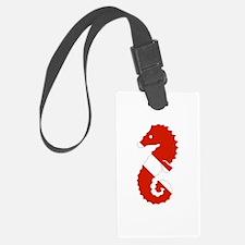 Seahorse Diver Luggage Tag