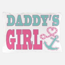 Daddys Girl Boat Anchor and Heart Pillow Case
