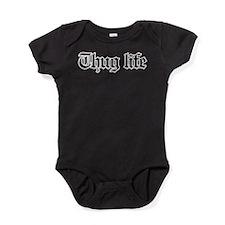 thug life, gangster, baby, g, thug, Baby Bodysuit