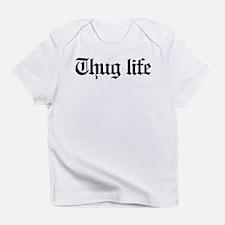 thug life, gangster, baby, g, thug, Infant T-Shirt
