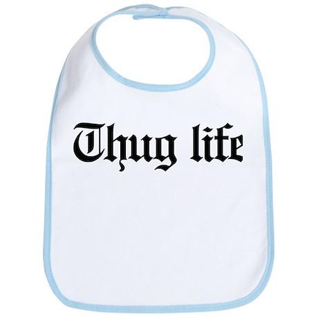 thug life, gangster, baby, g, thug, Bib