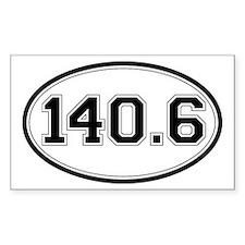 140.6 Ironman Triathlon Distance Decal
