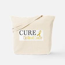 Cure Childhood Cancer -001 Tote Bag