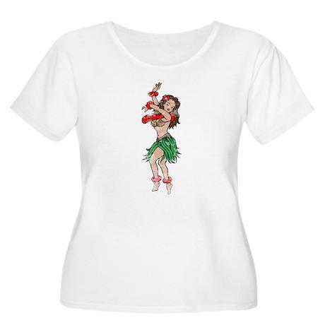 Vintage Hua Tattoo Plus Size T-Shirt