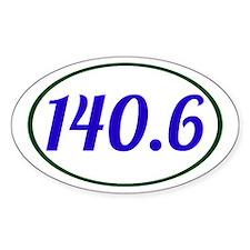 Ironman Triathlon 140.6 Decal