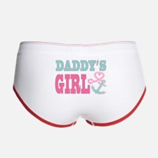 Daddys Girl Boat Anchor and Heart Women's Boy Brie