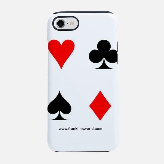 Card Symbols II.jpg iPhone 7 Tough Case